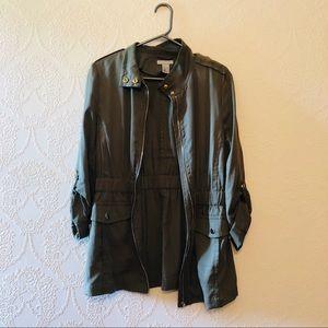 H&M khaki Cargo Style Jacket